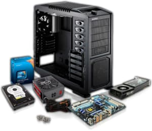 las partes internas de una computadora
