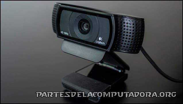Partes de una cámara de computadora