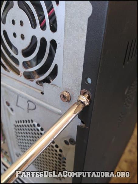 Destapando una PC