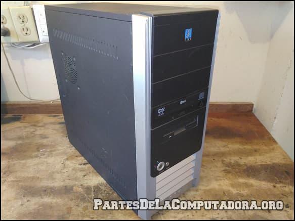 computadora con disco duro
