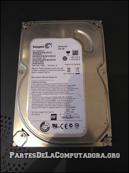 disco duro de computadora