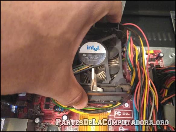 como se saca un procesador de pc