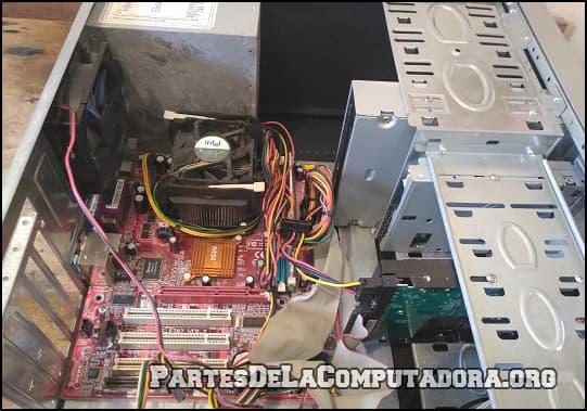 el procesador de una computadora
