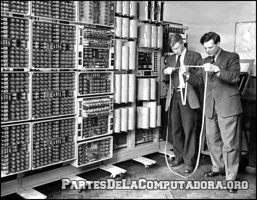 como eran las primeras computadoras