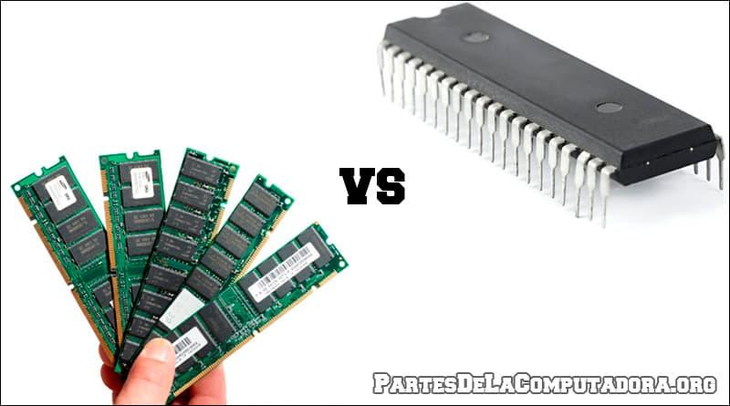 Diferencias entre la RAM y la ROM