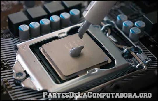 Colocar pasta termica para computadoras